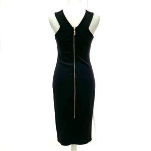 JLO Black Dress with Back Zipper - STUNNING!